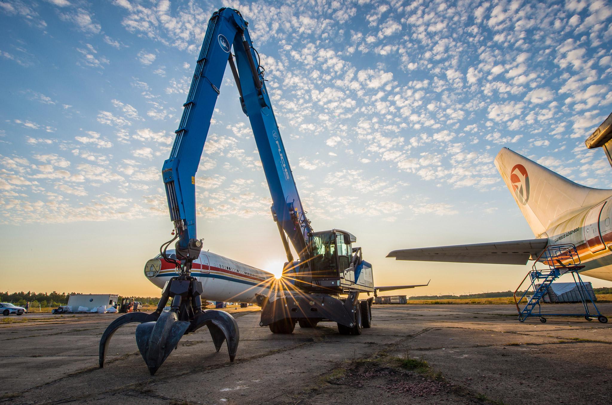 Flugzeugrecycling: Schatzkästchen mit Flügeln