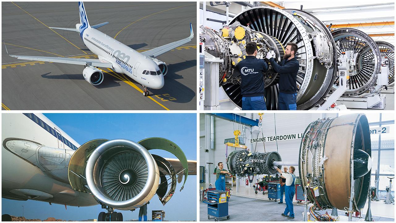 50 Jahre Airbus und MTU