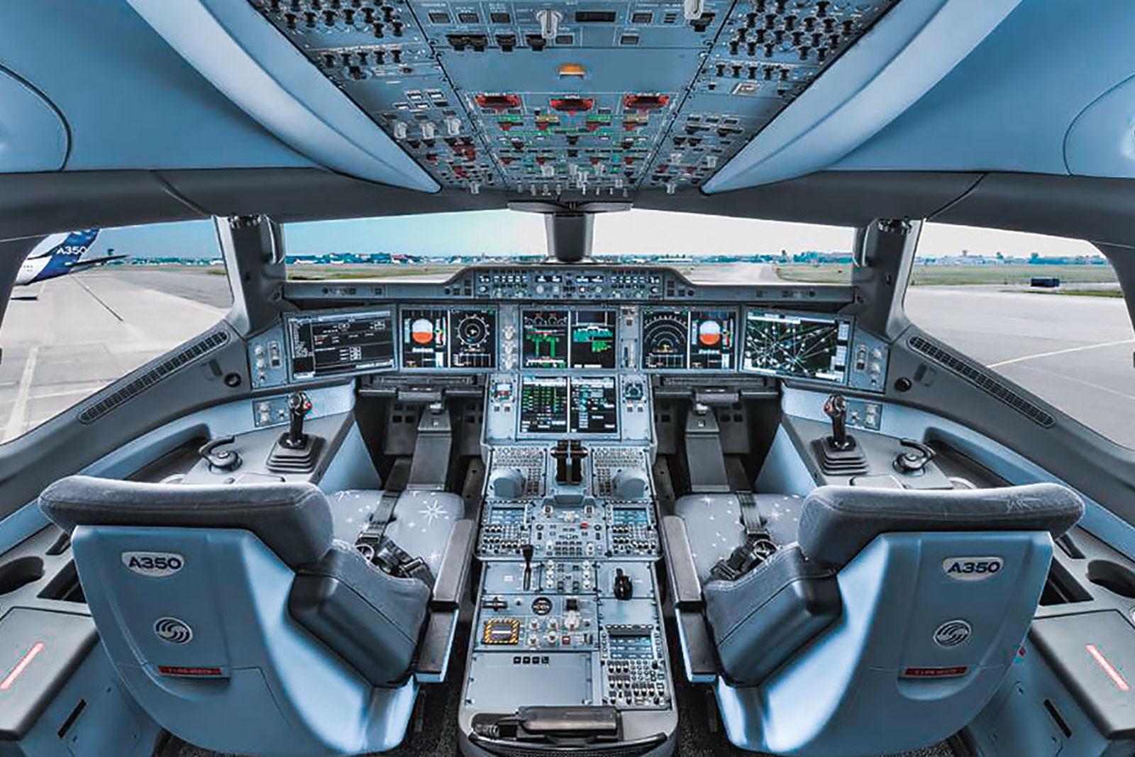 Gestern & heute: Cockpit
