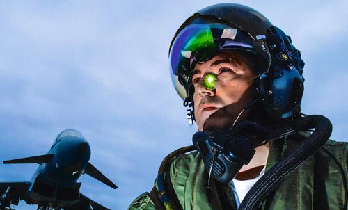 HEA-Helm: Durchblick für die Eurofighter-Piloten
