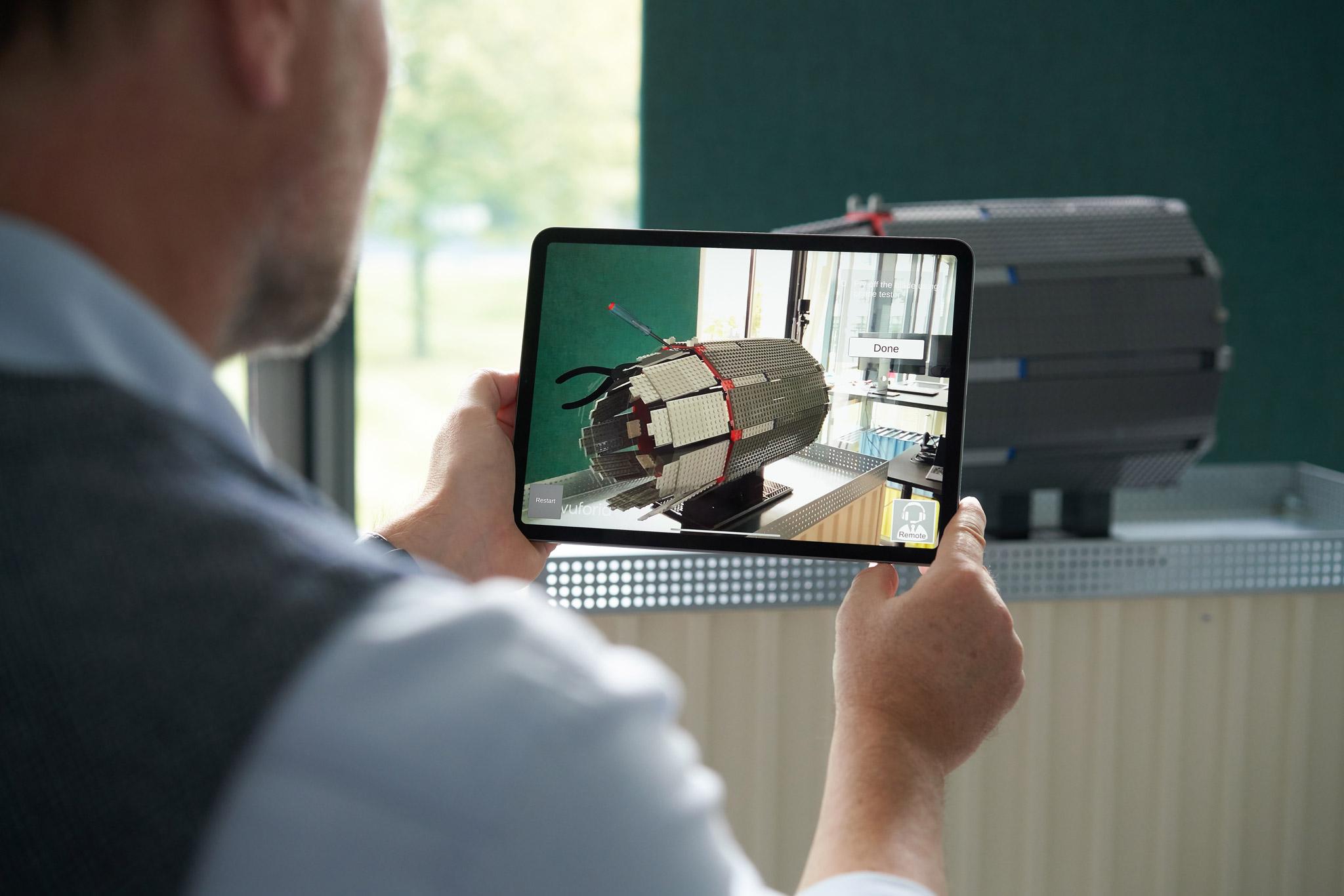 Augmented Reality-Anwendungen fürs Triebwerksbusiness