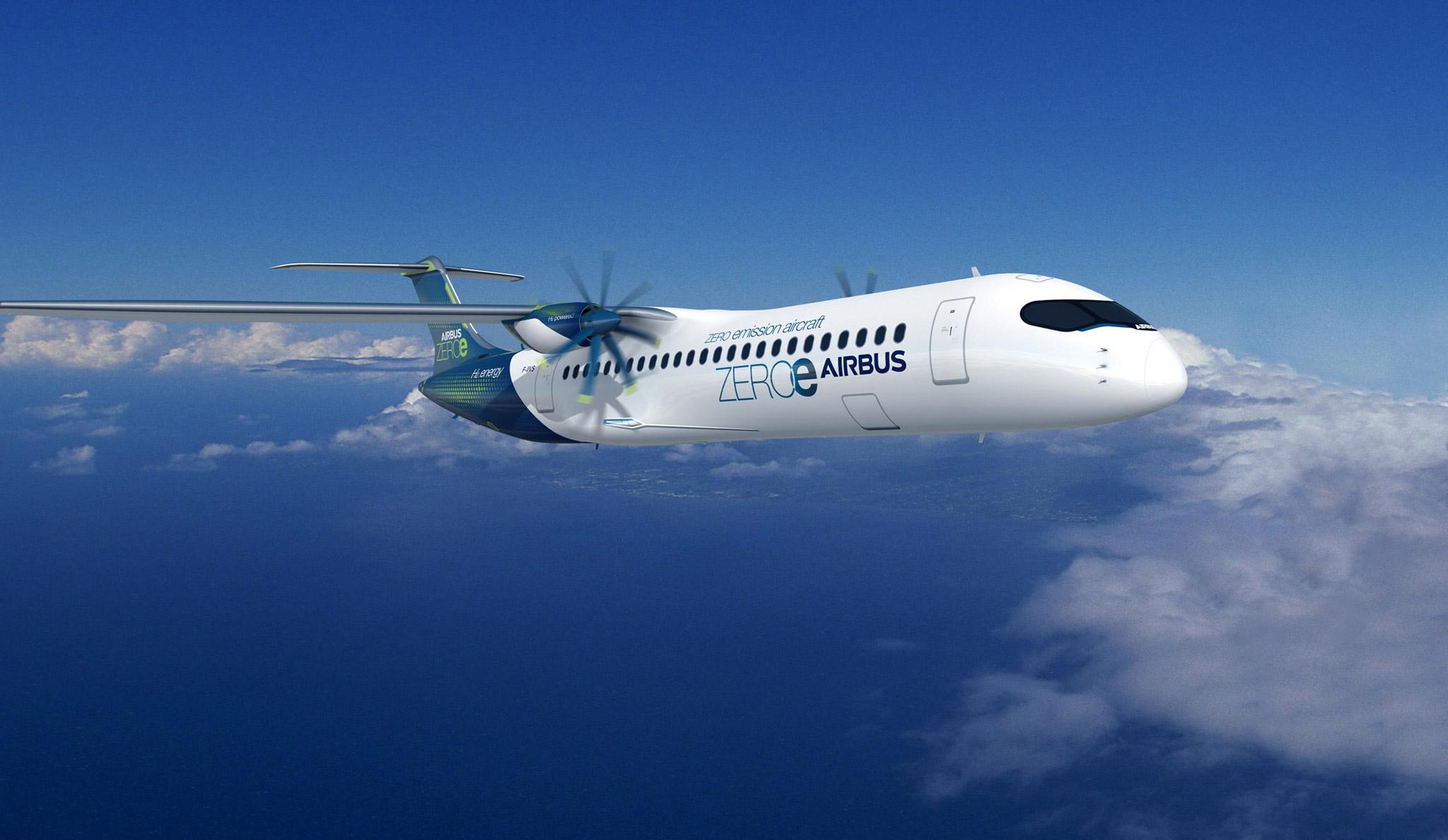 Wie Wasserstoffantriebe ins Flugzeug kommen