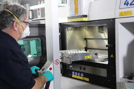 High-Tech Fertigungsverfahren im Einsatz bei der MTU: Additive Fertigung